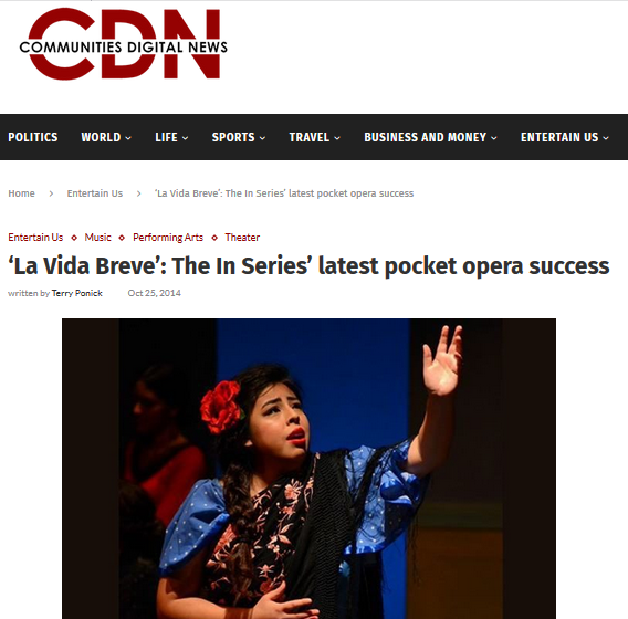 Screen Shot CDN News La vida Breve Patricio Zamorano