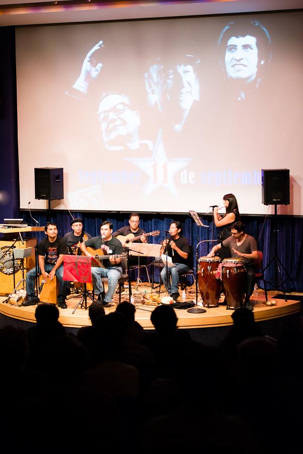 Patricio Zamorano y su banda Concierto 11 sep 2013 Washington DC