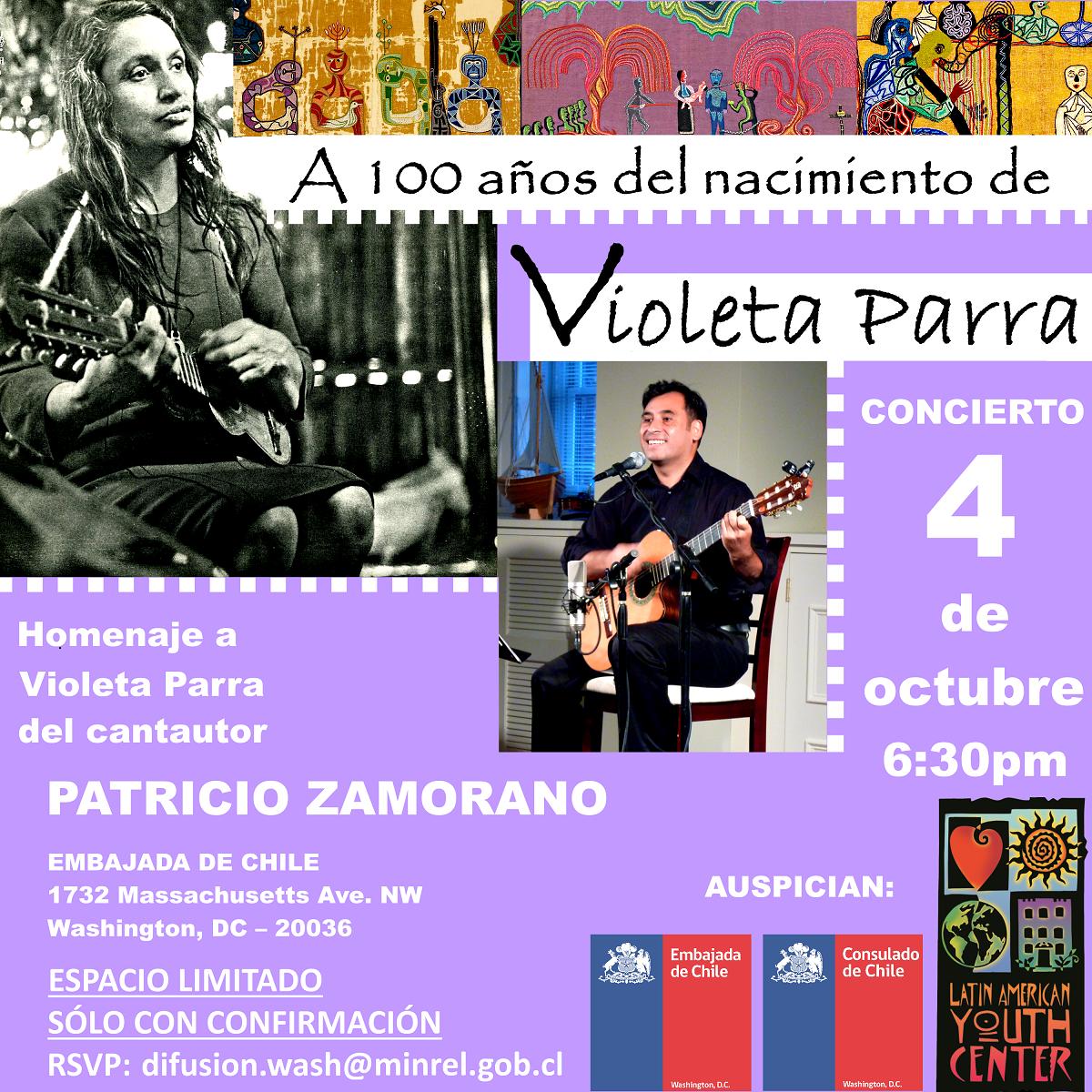 Homenaje Violeta Parra Oct 4 2017 Patricio Zamorano 1200px_new